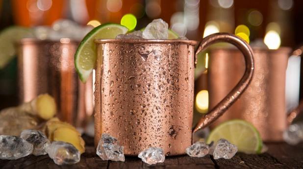 коктейли с водка - Moscow Mule