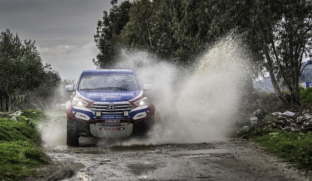 HYUNDAI OFF-ROAD RACING TEAM, офроуд, Hyundai Santa Fe T1, Цветомир Иванчев , Ивайло Николов