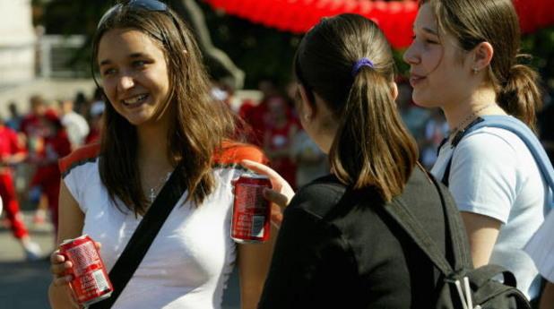 Момичета в София