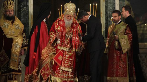 Великден - патриарх Неофит, Росен Плевнелиев