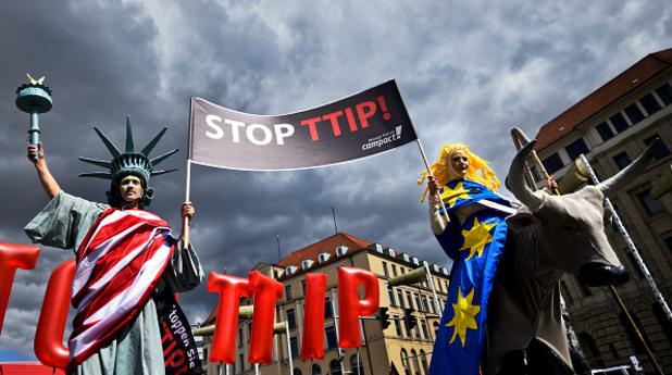 протест срещу ttip