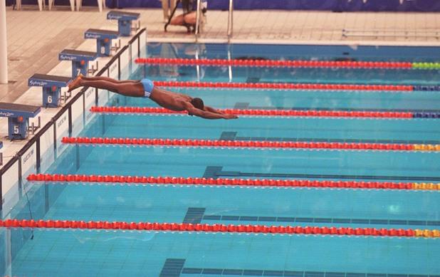 Ерик Мусамбани , Ерик Мусамбани Малонга  , сидни 2000, олимпиада, олимпийски игри, плуване
