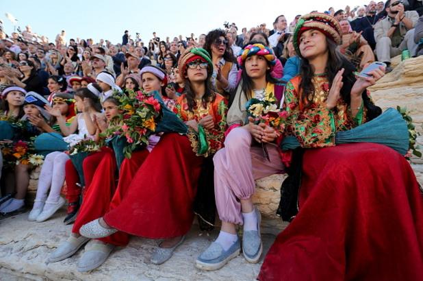 деца на концерта в палмира