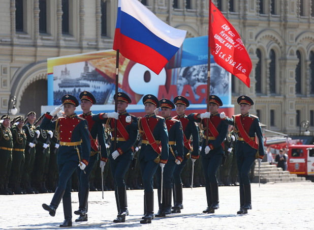 9 май 2016, Русия, военен парад