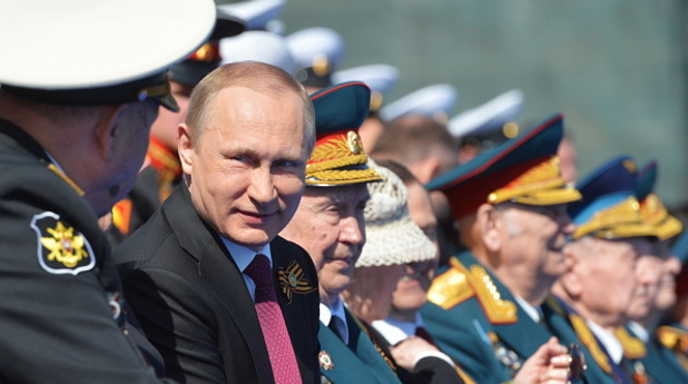 9 май 2016,военен парад, Русия - Владимир Путин