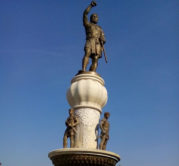 Паметник на Филип Македонски