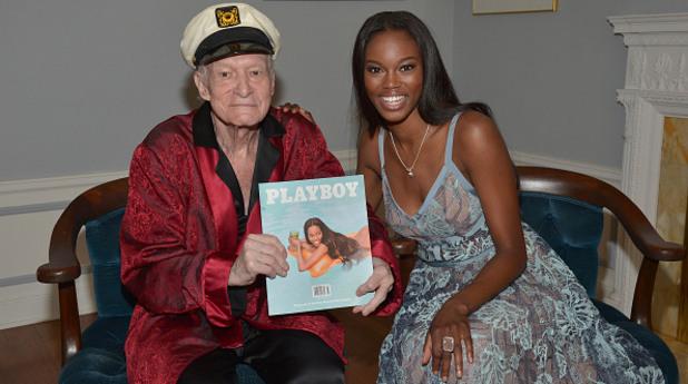 Playboy засне първото не-голо момиче