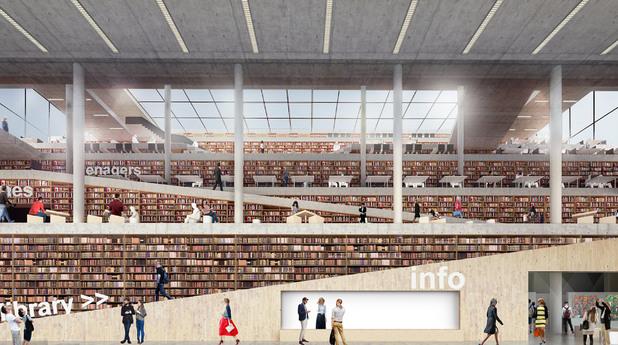 Конкурс за библиотеката във Варна