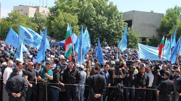 Митинг на ДПС в Джебел