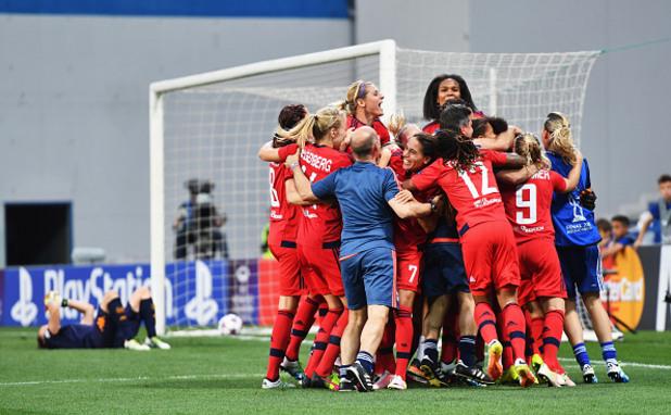 шампионска лига, шампионска лига жени, финал, лион, волфсбург