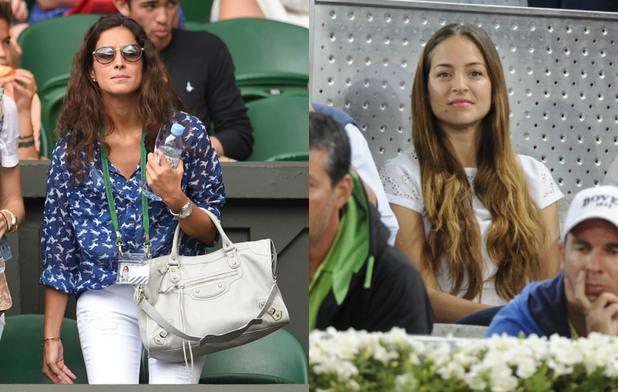 жените на тенисистите