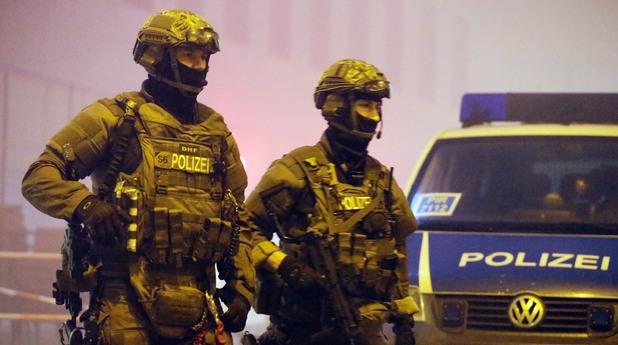 немски полицаи