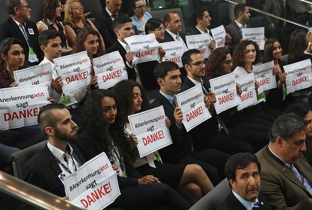 бундестаг, арменски геноцид