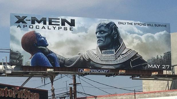 Билборд на X-Men