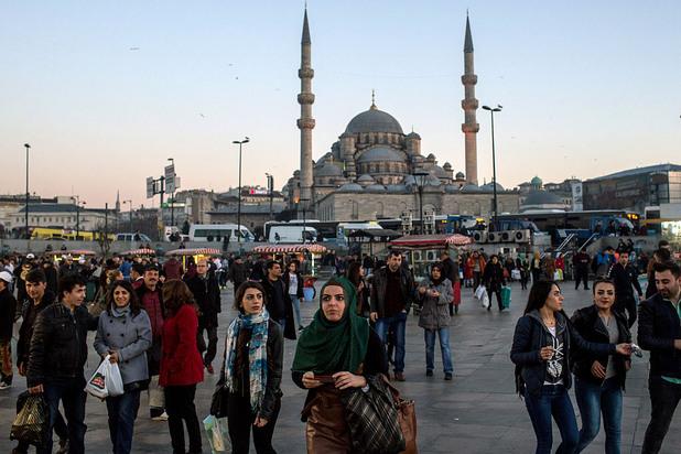 Джамия в Истанбул.