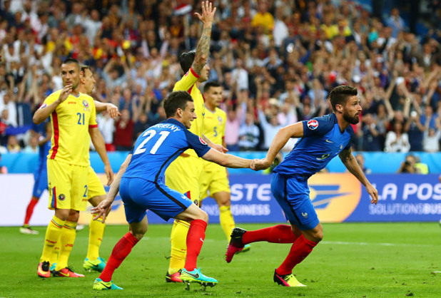 евро 2016, франция - румъния