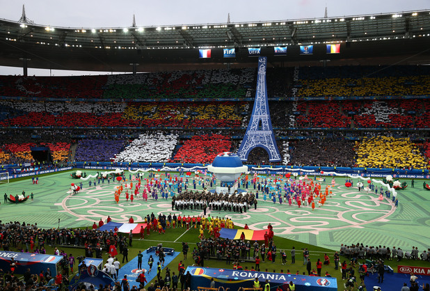 евро 2016,откриване,церемония