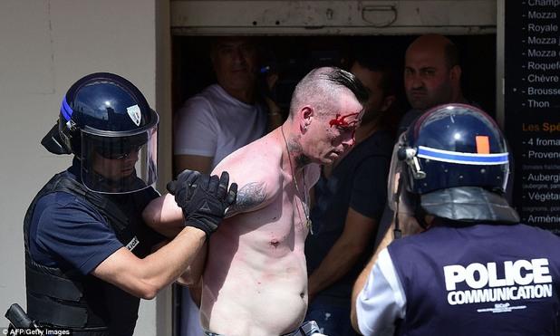евро 2016, англия, русия, фенове, сблъсъци, полиция, марсилия