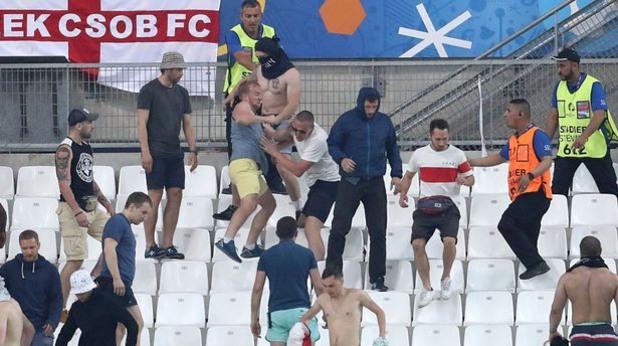 евро 2016, безредици, русия - англия, бой