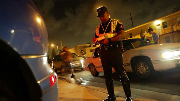 Американски пътен полицай