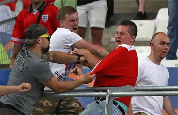 евро 2016, футболни хулигани, русия