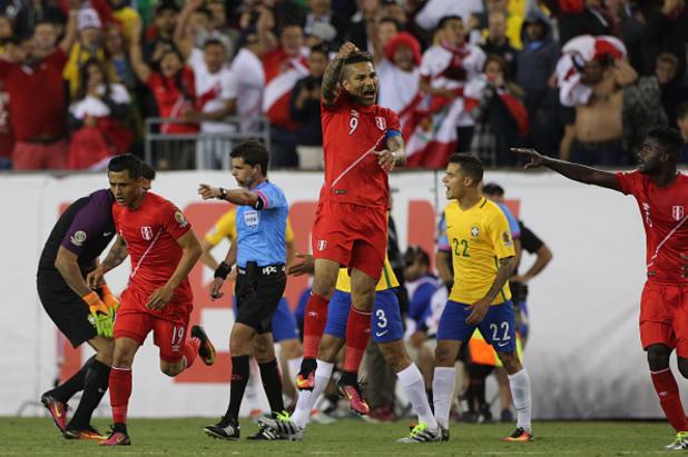 Бразилия - Перу 0:1