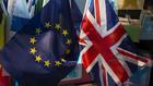 Brexit, английско знаме