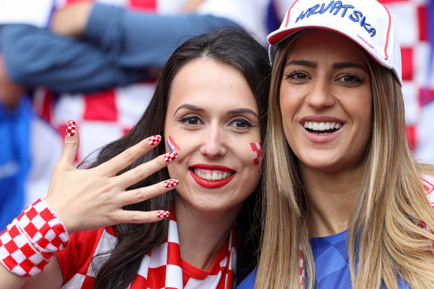 евро 2016,чехия, хърватия, фенове