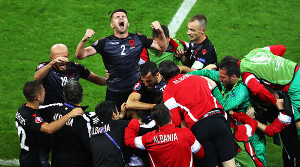 евро 2016, албания, румъния