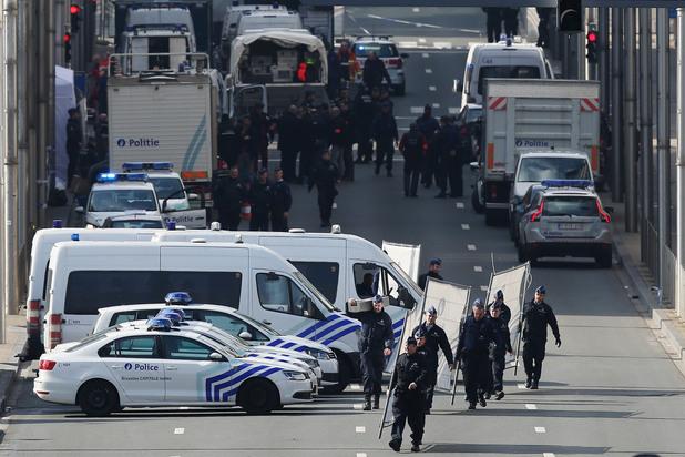 полиция в брюксел