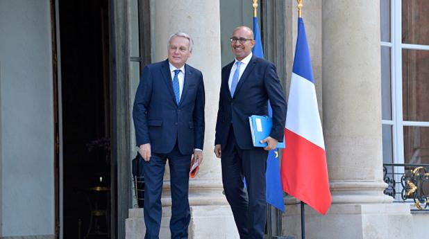 Външните министри на Франция и на Холандия Жан-Марк Еро и Харлем Десир пристигат на спешна среща в Берлин след резултатите на Брекзит