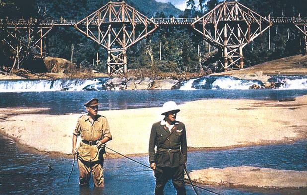 мостът на река куай
