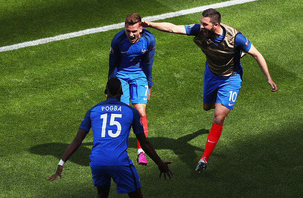 антоан гризман,евро 2016,ейре,франция