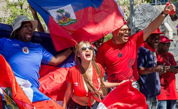 хаити,копа америка, копа америка 100, фенове