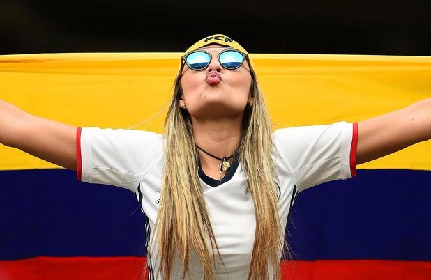копа америка, копа америка 100, фенове, колумбия