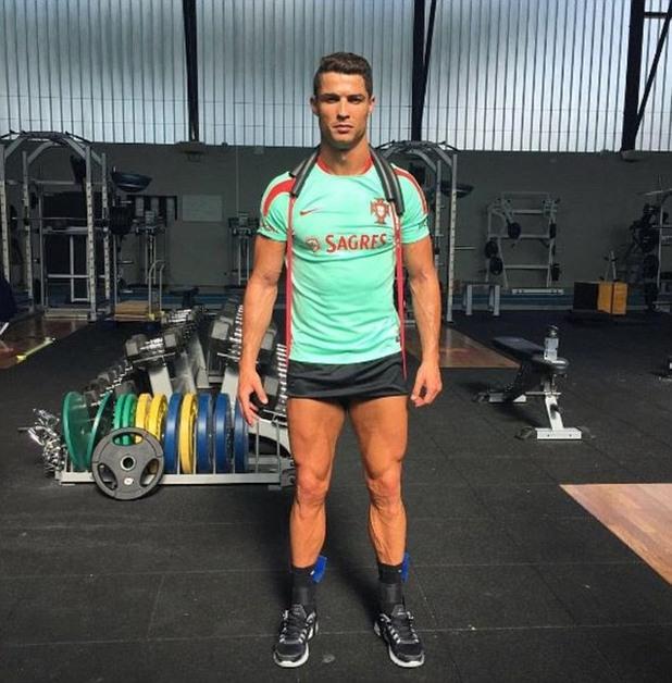 евро 2016, кристиано роналдо, мускули, фитнес