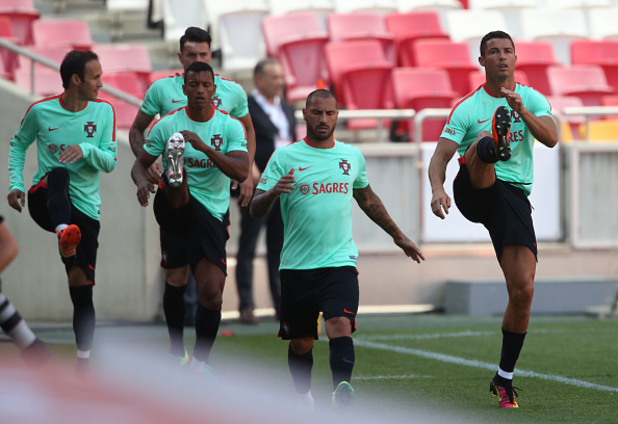 португалия, евро 2016, тренировка