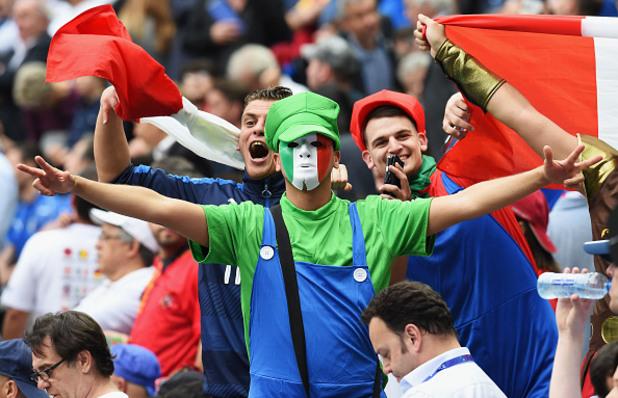 евро 2016,испания,италия,фенове
