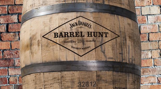 jack daniels barrel hunt