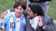 Меси и Марадона