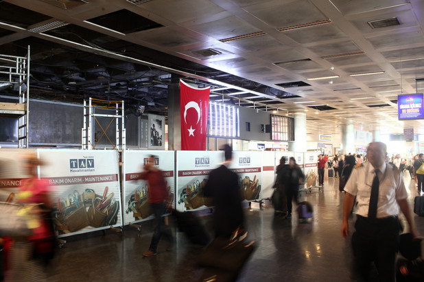 Летище Ататюрк