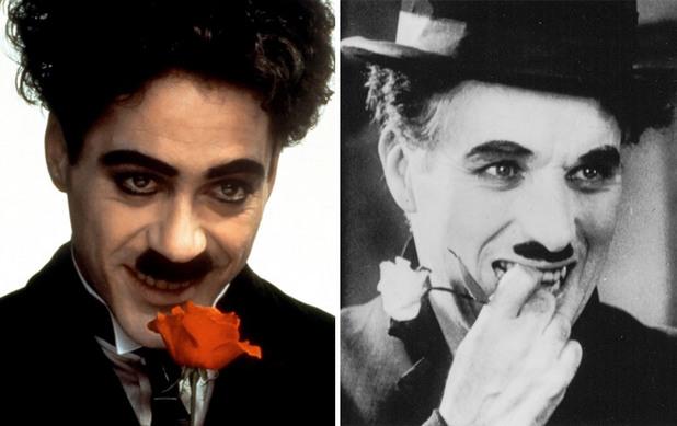 Чарли Чаплин, Робърт Дауни Джуниър