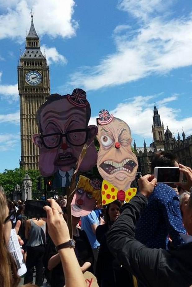 лондон протест брекзит