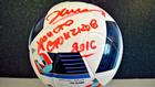 евро 2016, топка, христо стоичков, награда, подпис
