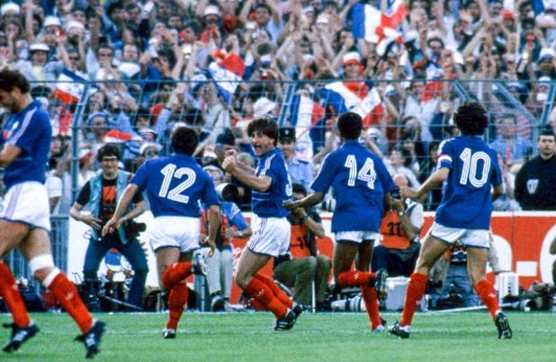 Франция – Португалия 3:2, Евро 1984