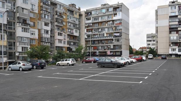 бургас, блок, панелен блок, панелка, квартал, паркинг, град