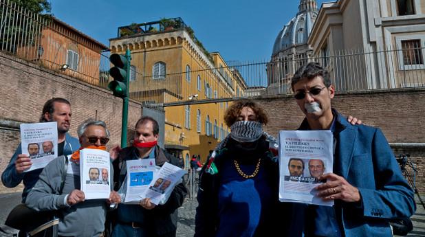 Протест за свободата на словото