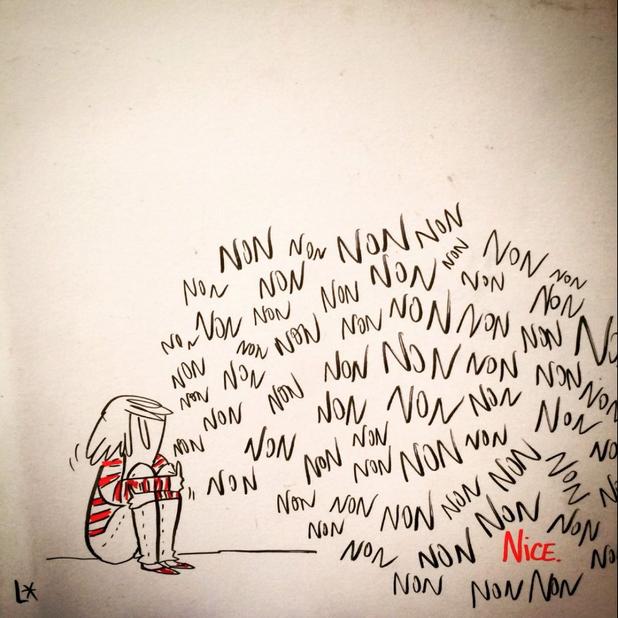 карикатури ница