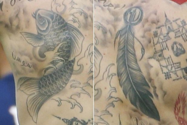 златан ибрахимович,татуировки
