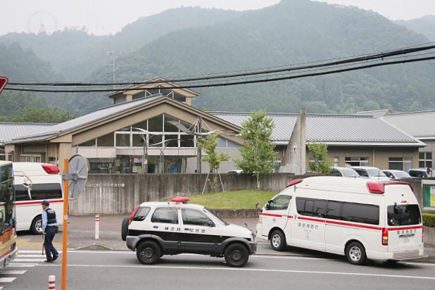 нападение в япония